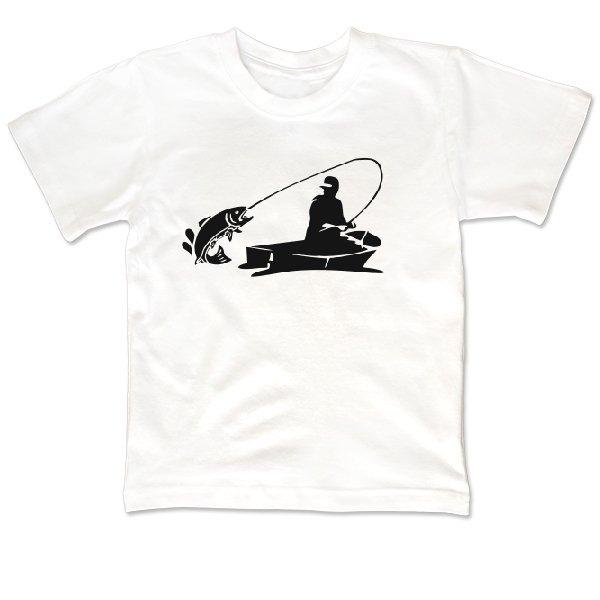 Детская футболка Клевая Рыбалка