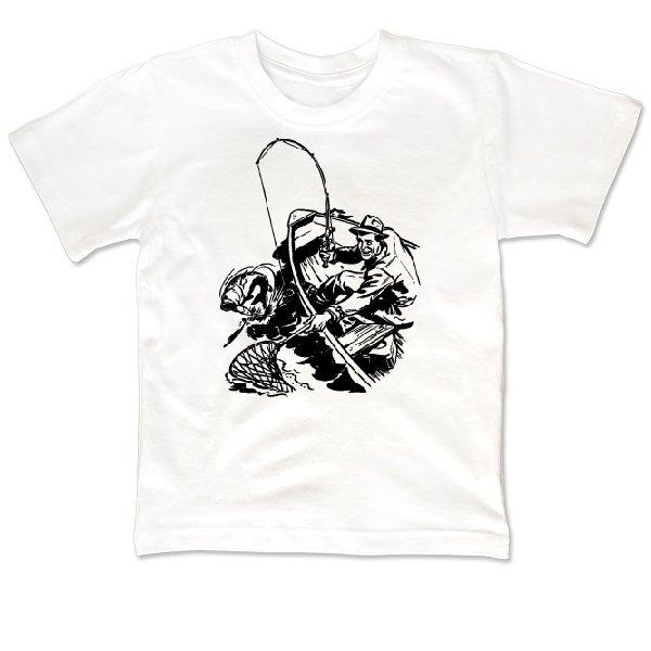 Детская футболка Борьба с хищником