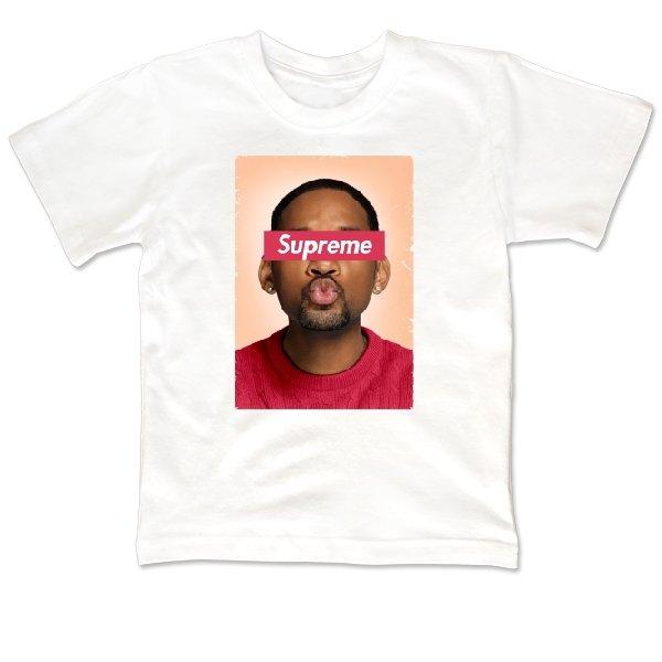 Детская футболка Supreme Will Smith