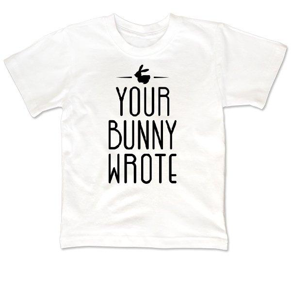 Детская футболка Ваш Кролик написал