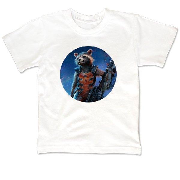 Детская футболка Енот Марвел