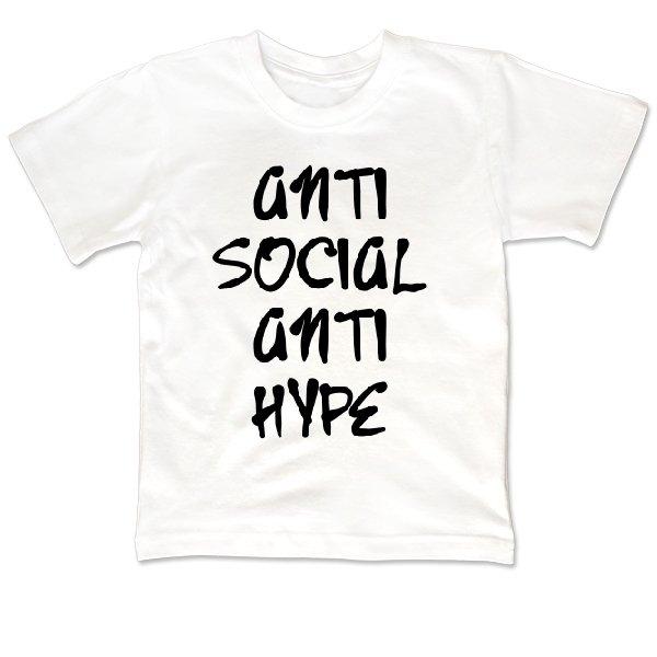 Детская футболка Anti Social Anti Hype