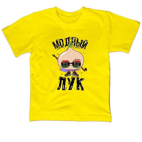 Детская футболка Модный лук