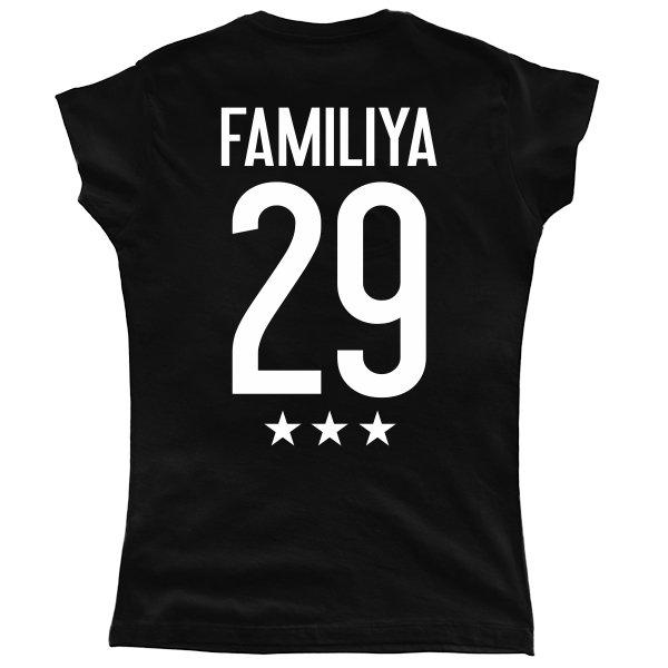 Женская футболка Звездная Фамилия