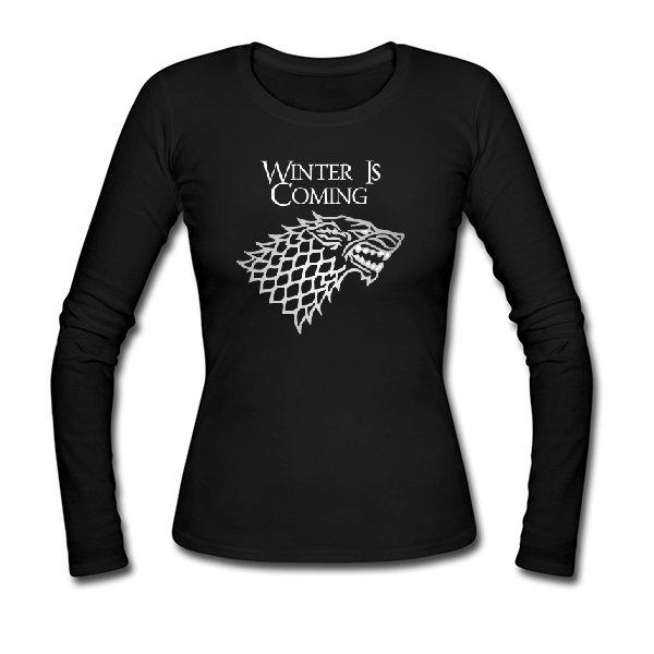 Женский лонгслив Winter is Coming
