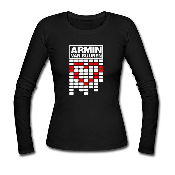 Женский лонгслив Armin van Buuren сердце