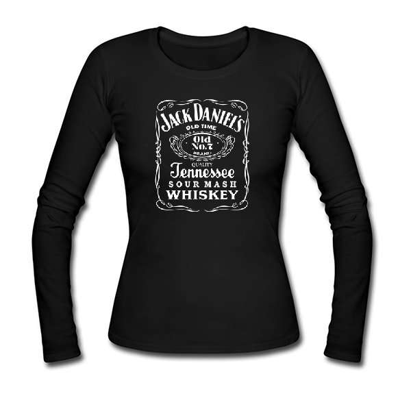 Женский лонгслив Jack Daniels