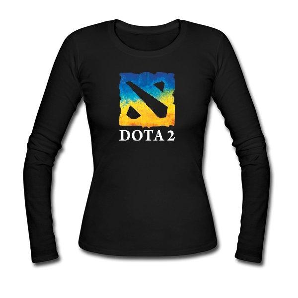 Женский лонгслив Dota 2 Ukraine Team