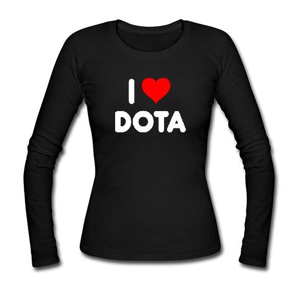 Женский лонгслив I Love Dota