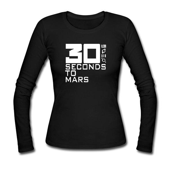 Женский лонгслив 30 seconds to mars