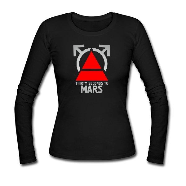 Женский лонгслив 30 Секунд до Марса