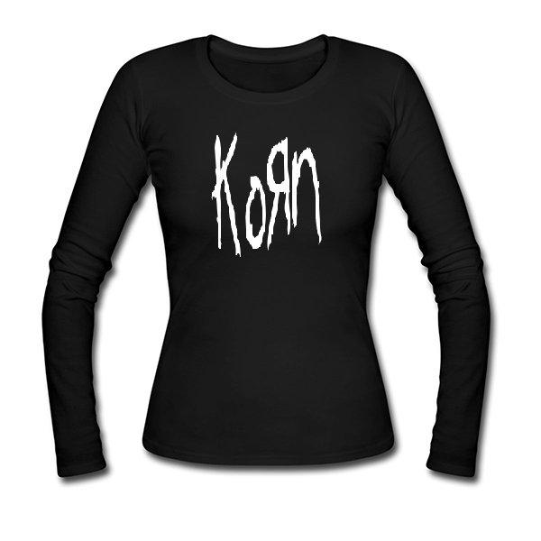 Женский лонгслив С группой Korn