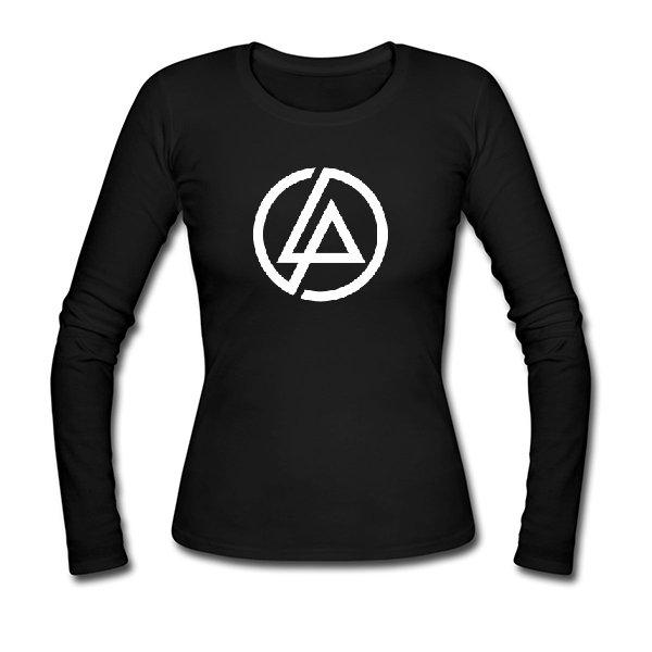Женский лонгслив С логотипом Linkin Park