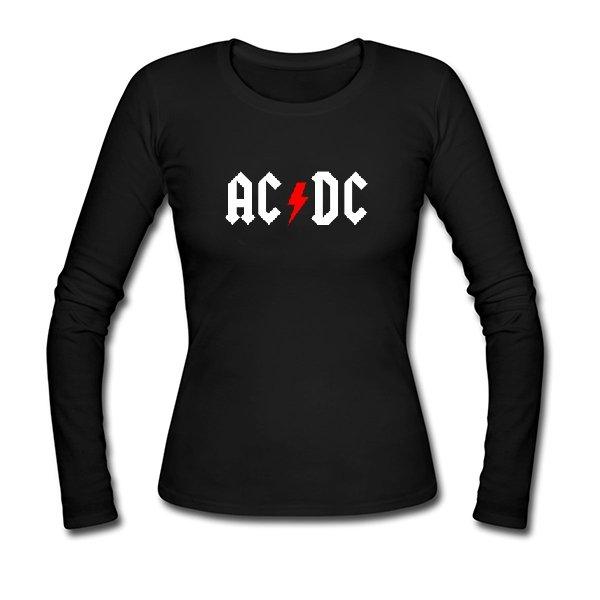 Женский лонгслив AC DC
