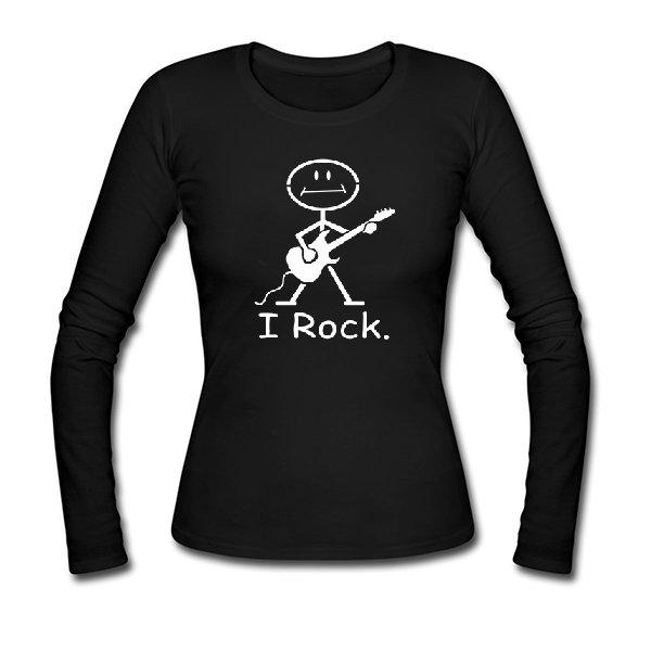 Женский лонгслив I Rock