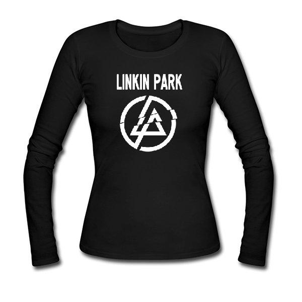 Женский лонгслив Линкин Парк логотип