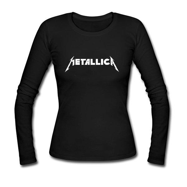 Женский лонгслив Metallica
