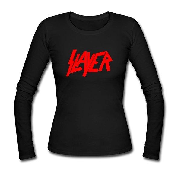 Женский лонгслив Slayer