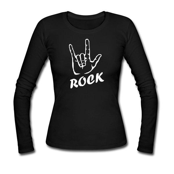 Женский лонгслив Rock