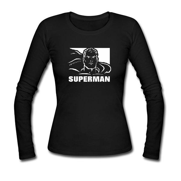 Женский лонгслив с Суперменом