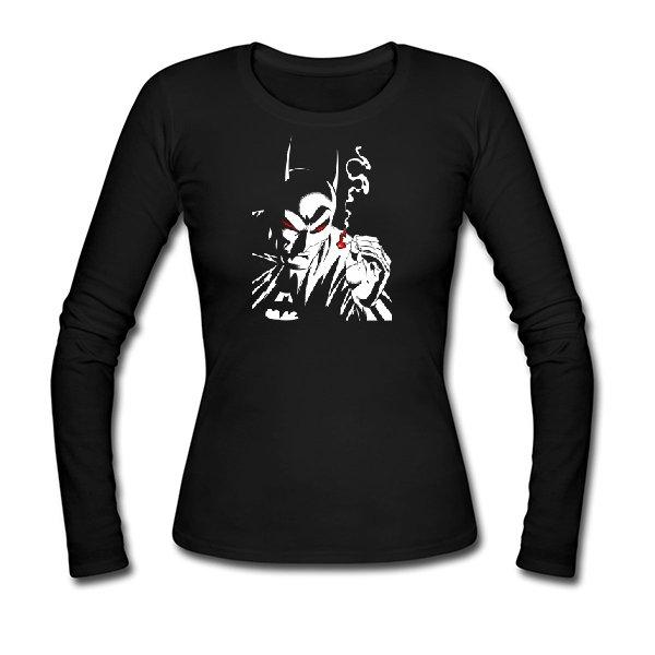 Женский лонгслив Курящий Бэтмен