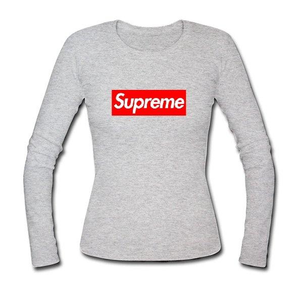 Женский лонгслив Supreme