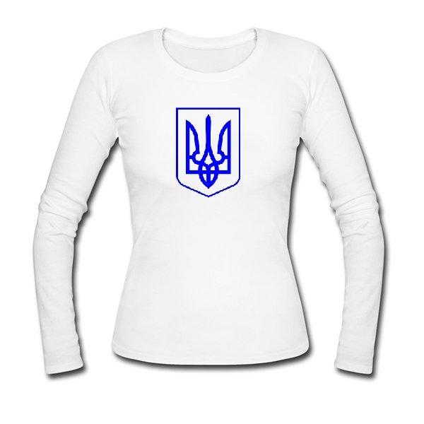 Женский лонгслив Герб Украины