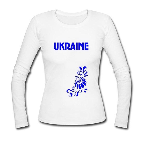 Женский лонгслив Символика Ukraine