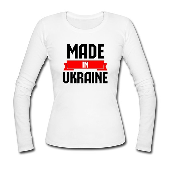 Женский лонгслив Made in Ukraine