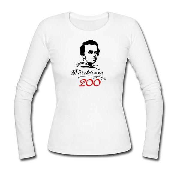 Женский лонгслив 200 Років Шевченко