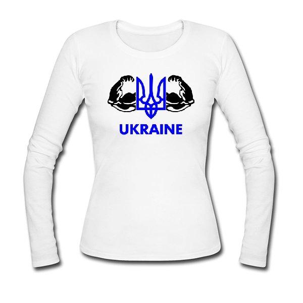 Женский лонгслив Сильна Україна