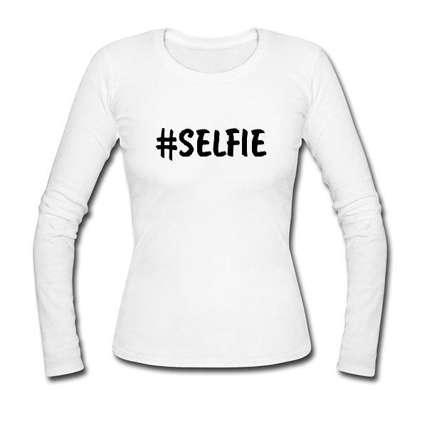 Женский лонгслив Selfie