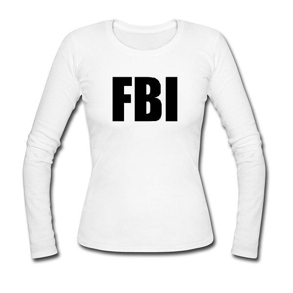 Женский лонгслив FBI