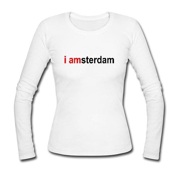 Женский лонгслив I Amsterdam