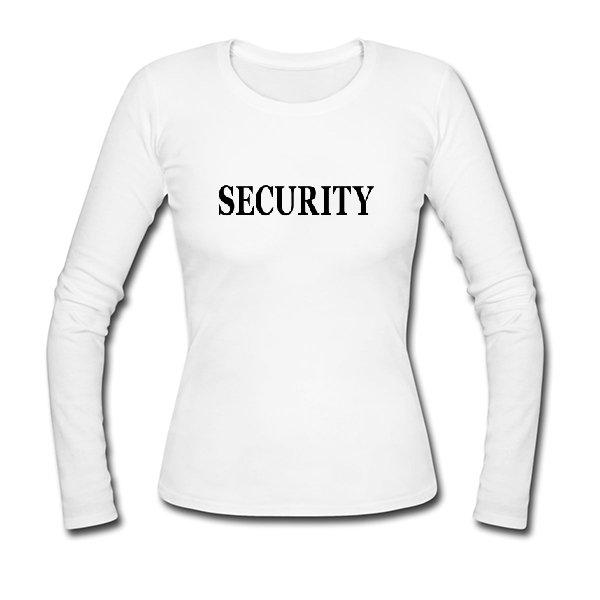 Женский лонгслив Security