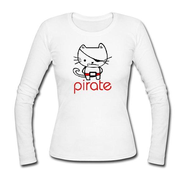 Женский лонгслив Пират