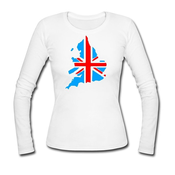 Женский лонгслив Британия