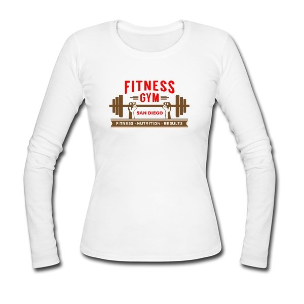 Женский лонгслив Fitness Gym
