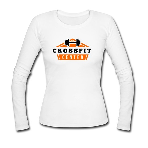Женский лонгслив Crossfit Center