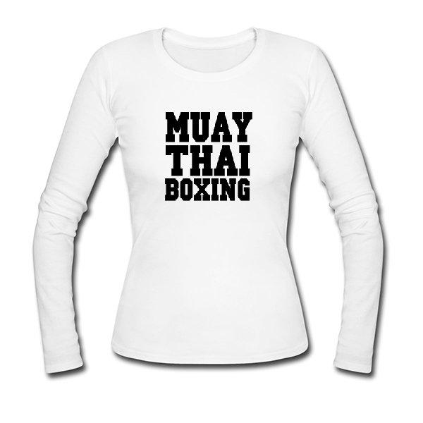 Женский лонгслив Muay Thai Boxing