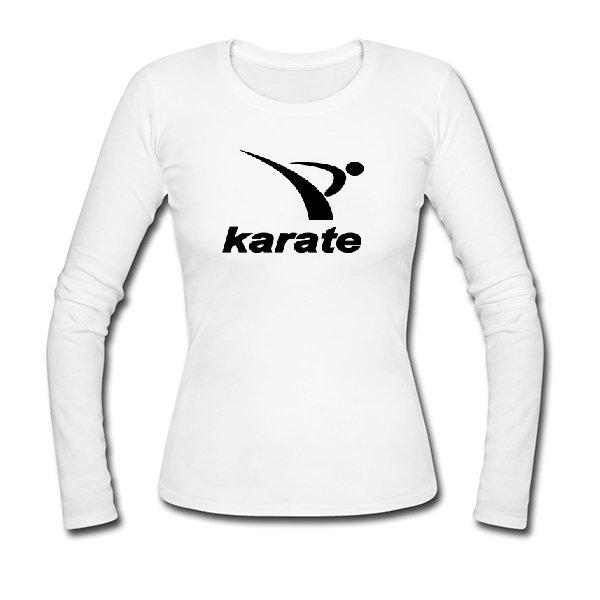 Женский лонгслив Karate лого