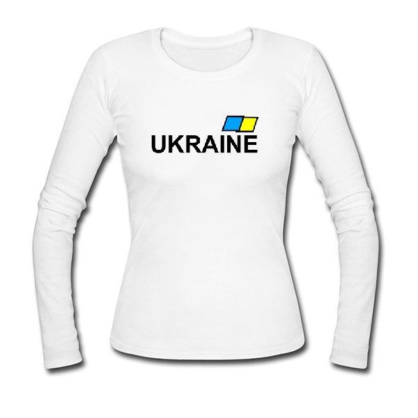 Женский лонгслив Ukraine
