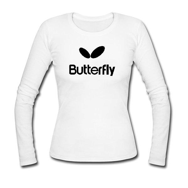 Женский лонгслив Butterfly
