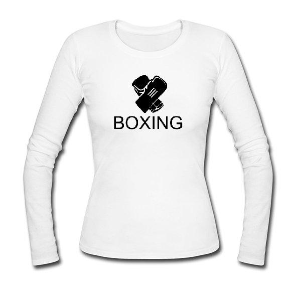 Женский лонгслив Бокс