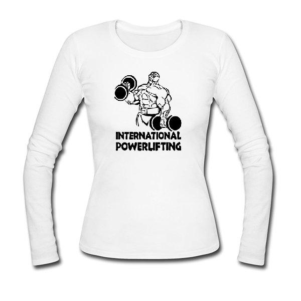 Женский лонгслив International Powerlifting