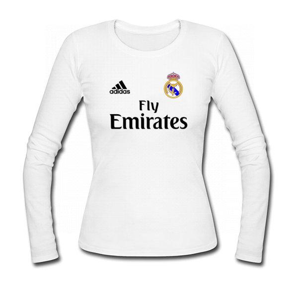 Женский лонгслив Реал Мадрид