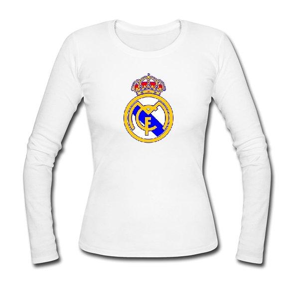 Женский лонгслив FC Real Madrid