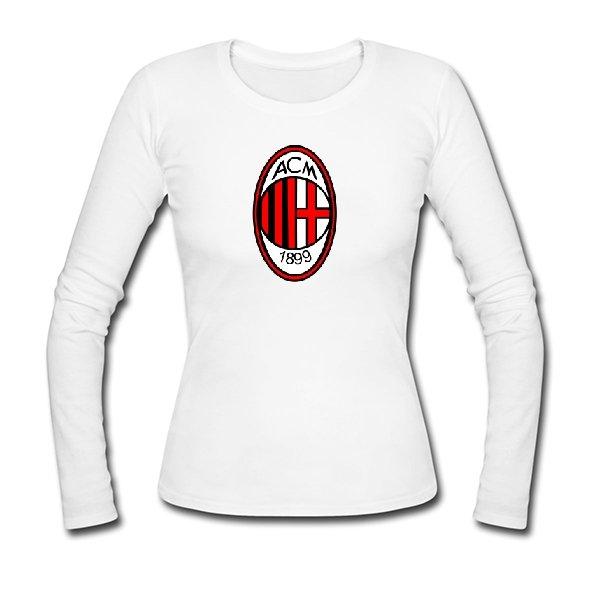 Женский лонгслив FC Milan