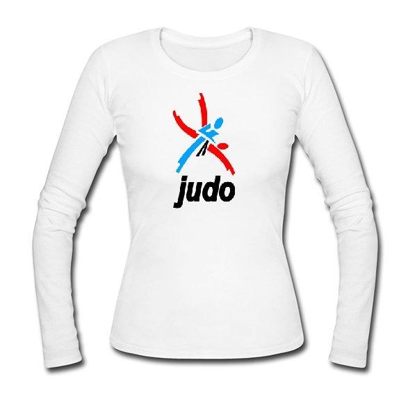 Женский лонгслив Логотип Дзюдо