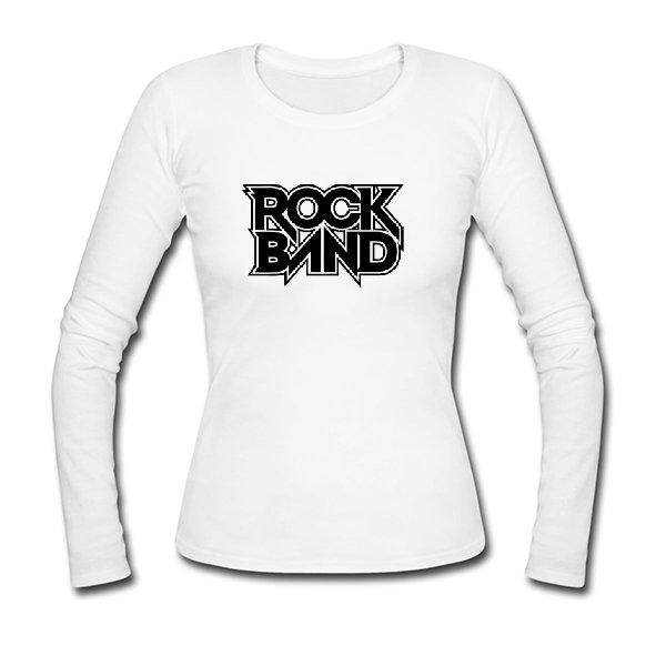 Женский лонгслив Rock Band
